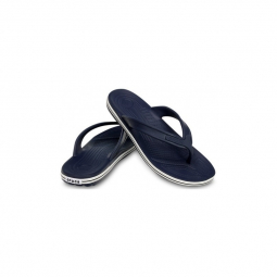 Image of Crocs crocband flip navy 42 1 2