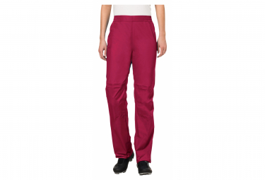 Vaude Drop II Women's Waterproof Pants Crimson Red