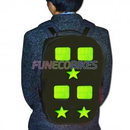 Stickers reflechissants pour enfant a velo