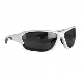 Kimood Lunettes de soleil sport - KI3032 - blanc et gris