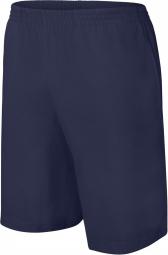 Image of Proact short jersey homme pa151 bleu marine m