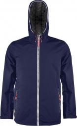 Kariban veste impermeable unisexe k6104 bleu marine
