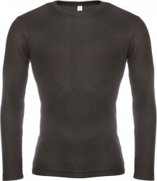 Kariban maillot de corps manches longues homme k801 noir