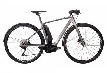 BMC Alpenchallenge AMP City ONE Bici urbana híbrida Shimano Deore 10S Gunmetal Grey 2019