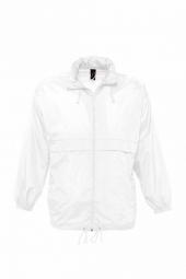 Sol s veste coupe vent impermeable 32000 blanc mixte homme ou femme