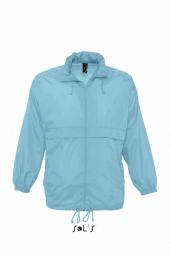 Sol s veste coupe vent impermeable 32000 bleu atoll mixte homme ou femme