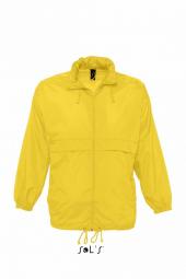 Sol s veste coupe vent impermeable 32000 jaune mixte homme ou femme