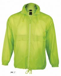 Sol s veste coupe vent impermeable 32000 vert citron mixte homme ou femme