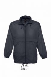 Sol s veste coupe vent impermeable 32000 bleu marine mixte homme ou femme