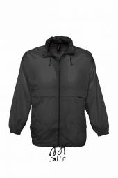 Sol s veste coupe vent impermeable 32000 noir mixte homme ou femme
