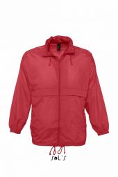 Sol s veste coupe vent impermeable 32000 rouge mixte homme ou femme