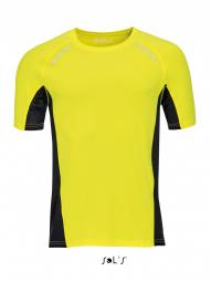 Sol's t-shirt running manches courtes - Homme - 01414 - jaune fluo