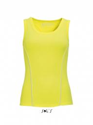 Image of Sol s debardeur running femme 01418 jaune xs