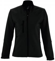 Sol s veste softshell impermeable respirante femme 46800 noir