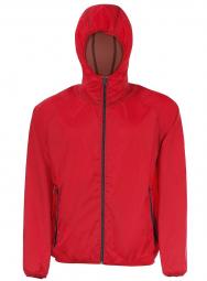 Sol s veste coupe vent impermeable 01169 rouge unisexe