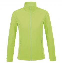 Sol s veste micropolaire zippee femme 00587 vert fluo