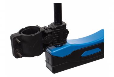 Antivol U Neatt 166 x 320 Avec Câble D10 x 1400 mm Noir Bleu + Support