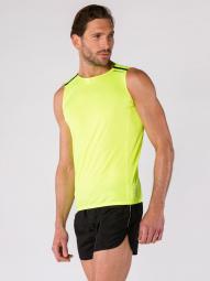 Image of Debardeur bodycross running orwen jaune fluo