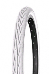 Pneu junior michelin usage urbain city j 350 couleur noir blanc tringle rigide 37 mm