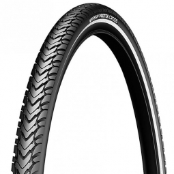 Pneu vtt michelin protek cross fr 700x35 tringle rigide couleur noir 35 mm