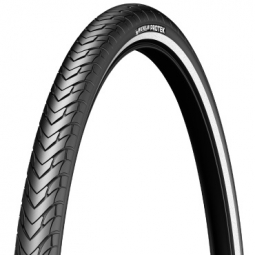 Pneu vtt michelin protek reflecto 700x40 tringle rigide couleur noir 40 mm