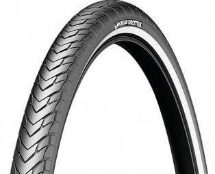 Pneu vtt michelin protek br 27x1 1 4 tringle rigide noir non communique