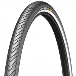 Pneu vtt michelin protek max 26 x 1 85 couleur noir usage r gulier et sportif tringle rigide 47 mm