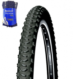 Pneu vtt michelin country trail 26 x 2 00 couleur noir usage loisir et sport tringle souple 54 mm