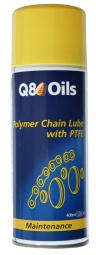 Entretien chaine lubrifiant ub hperf ptfe q8 oils contenance 400ml