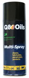 Entretien lubrif degrip multispray q8 oils contenance 400ml