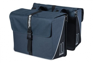 Basil Forte Double 35L Navy Blue Luggage Carrier Bags