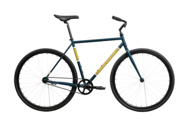 Velo single speed pure cycles coaster bleu jaune s 155 170 cm