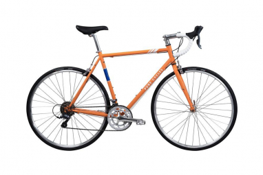 Velo de route pure cycles vintage 12v orange 51 cm 168 173 cm