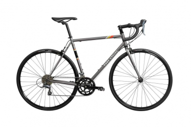 Velo de route pure cycles vintage 12v gris 56 cm 175 183 cm
