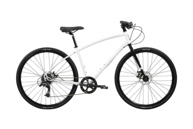 Vtc pure cycles urban commuter 8 vitesses blanc l 177 187 cm