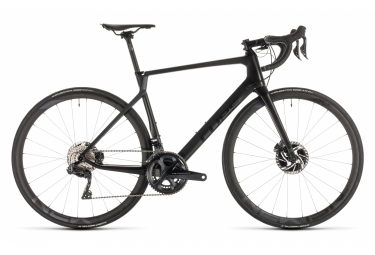 Cube Agree C:62 SLT Disc Road Bike Shimano Ultegra Di2 11S 2019 Black Grey