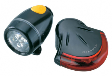 Topeak Front and rear lighting