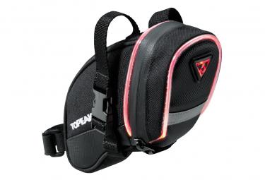 Saddle bag Aero Wedge iGlow (Straps) Topeak black