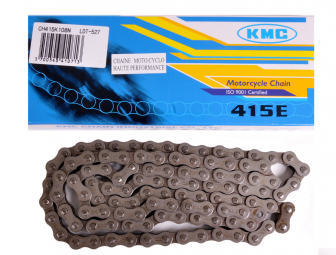 Image of Chaine 415 108 maillons kmc cyclo noire
