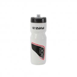 Bidon zefal sense couleur blanc contenance 800 ml