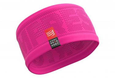 Compressport On/Off HeadBand Neon Pink Unisex