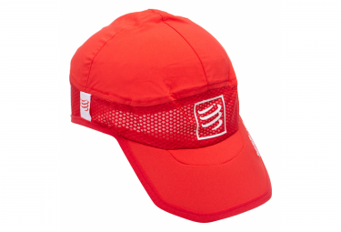 Casquette COMPRESSPORT Pro Racing Ultralight Rouge