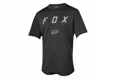 Fox Flexair Short Sleeves Moth Jersey Black