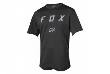 Maillot Manches Courtes Fox Flexair Moth Noir