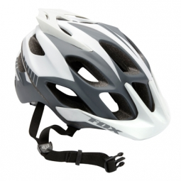 FOX 2011 PROMO FLOW Helmet White / Grey Size S / M