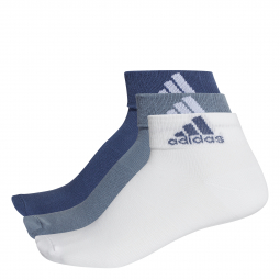 Socquettes adidas fines performance lot de 3 paires 31 34