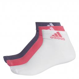 Socquettes adidas fines Performance (lot de 3 paires)