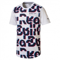 T shirt puma red bull racing race s