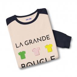 Sweatshirt bicolore la grande boucle s