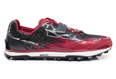 Zapatillas Altra King MT 1.5 para Hombre Rojo / Negro
